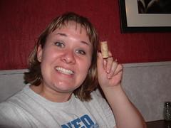 The cork!  The cork!