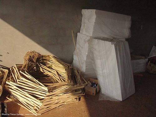 7861 - Bamboo frames - Chinese Funeral Paper Offerings | by loupiote (Old Skool) pro