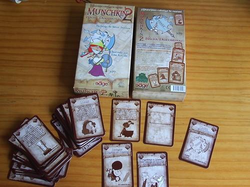 Munchkin 2: Un hacha descomunal