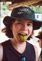 Kristy and her Green Tongue | by Roadchix