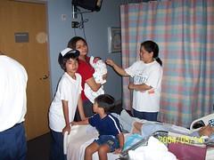 my hospital room, Doctors Medical Center