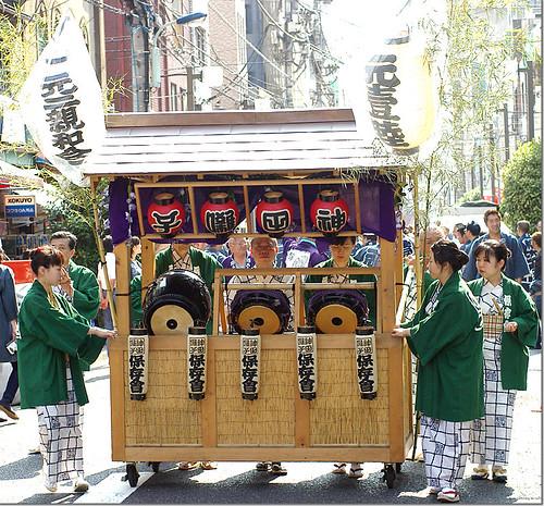 Hongo Mikawa-Inari Shrine Summer Festival 01