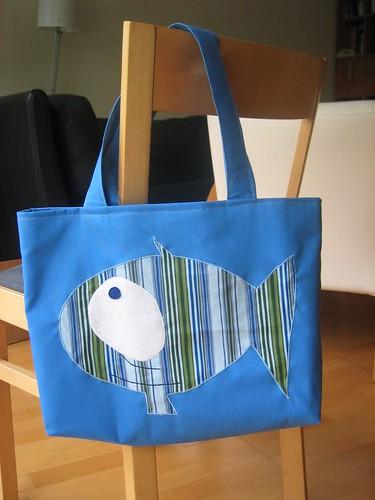 La bossa del peix, feta per la Lizette Greco