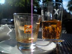kaffe i solen