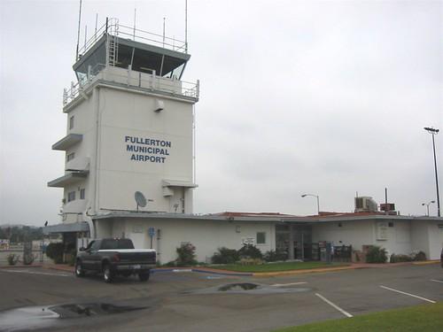 Fullerton Airport tower