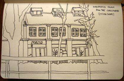 Kampong Glam sketch