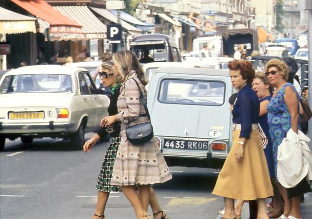 Street Scene, Nice