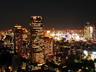 Tokyo's by night