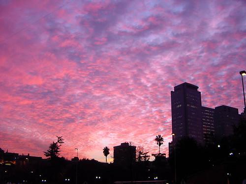chile trip travel santiago red vacation sky clouds landscape atardecer place ciudad cielo nuves arreboles