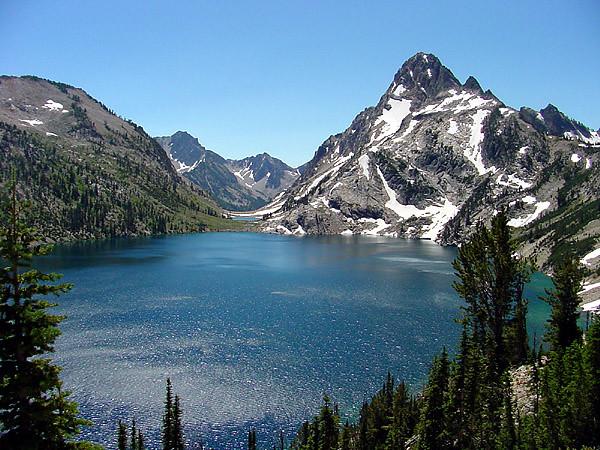 Mt. Regan & Sawtooth Lake