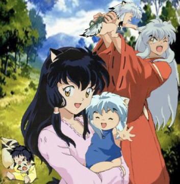 Inuyasha S Family Inuyasha Anime Series Fanart Not Don
