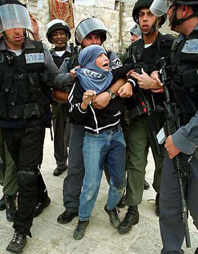Palestinian child - Jerusalem