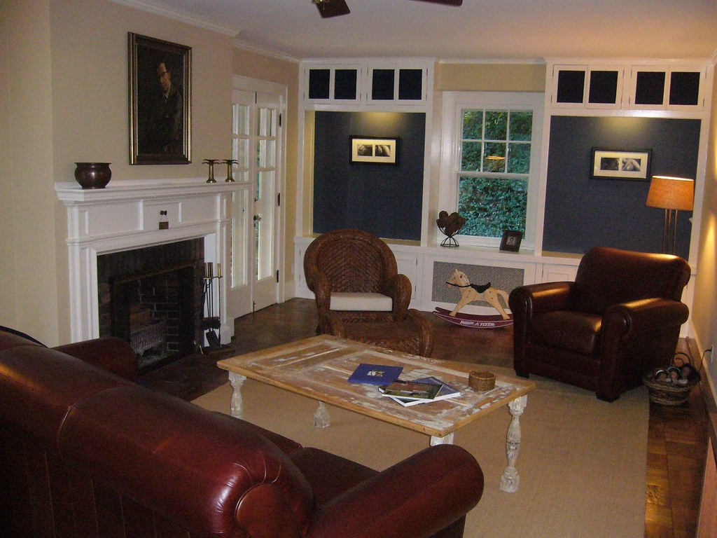 formal living room with entrance to front porch   highland ...
