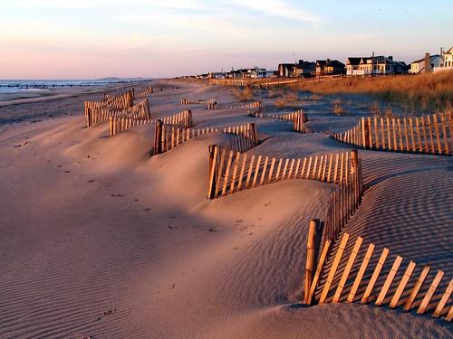 morning light shadow sun texture sunrise fence sand dune nj creativecommons stoneharbor jerseyshore myfave impressedbeauty