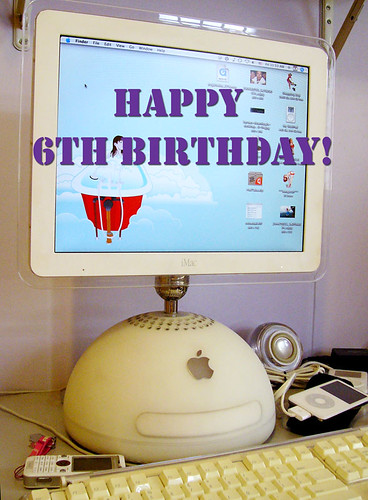 Happy birthday, iMac! | by yannie