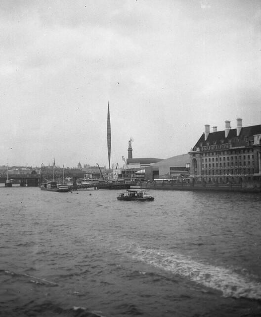 Festival of Britain - Skylon - 1951 - The Thames