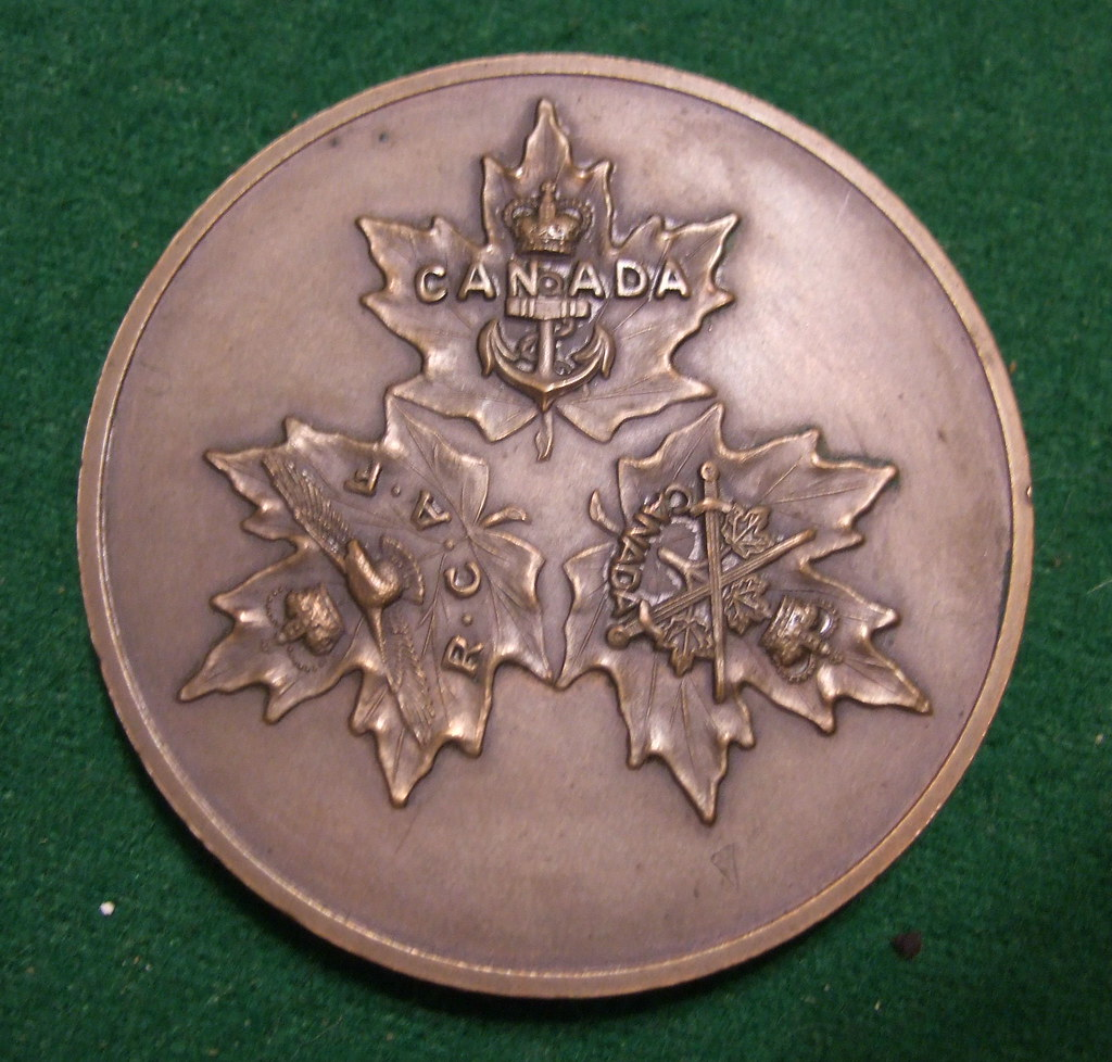 UNIFICATION of THE CANADIAN ARMED FORCES MEDAL 1968 b
