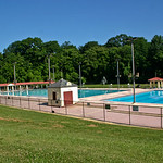 Druid Hill Park public swimming pool