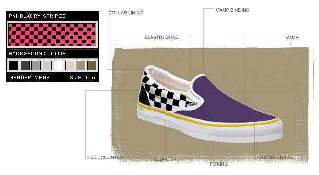 VANS Custom Slip-on