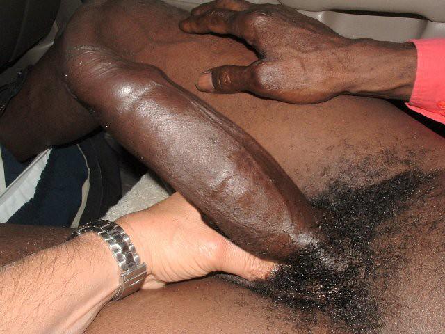 Gay black monster dick