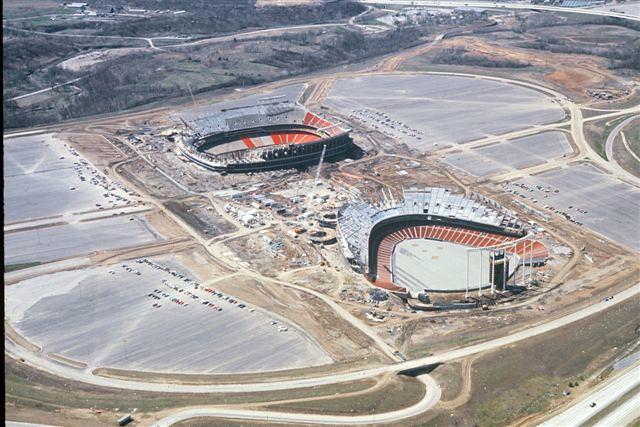 Truman Sports Complex circa 1970/1971