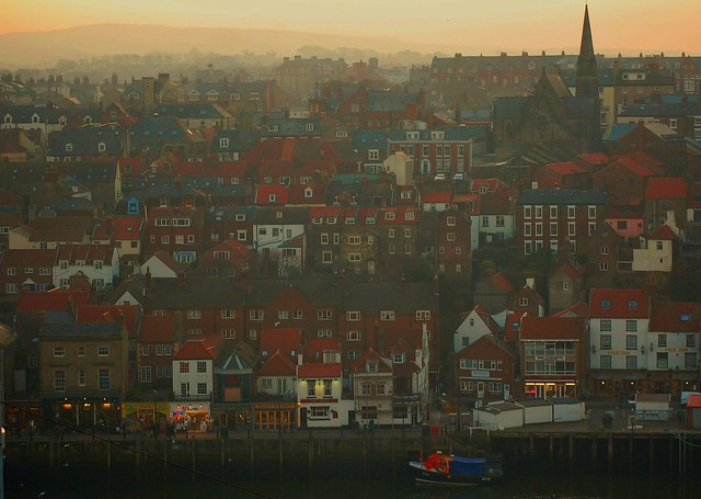 whitby yorkshire coast england