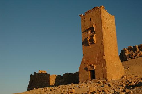 Towers of Yemliko, Palmyra   by Jamie Barras