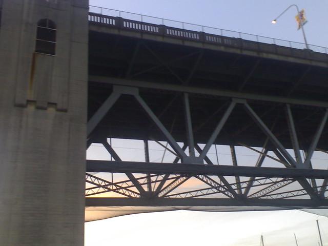 Burrard Bridge Nets