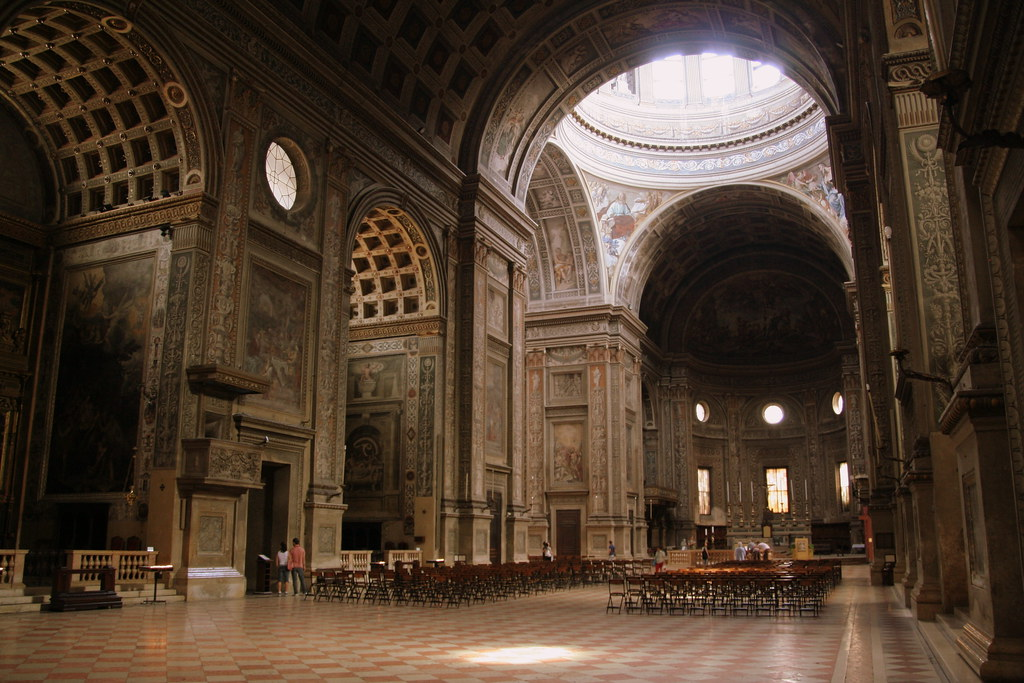 Basilica Of St Andrea Mantova Mykaul Flickr