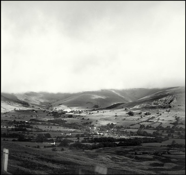 The Cloud-kissed hills of Edale