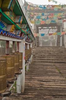 Tibetan Temple Entrance | by `James Wheeler