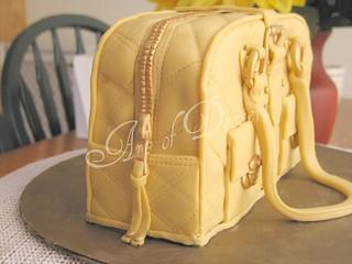Marc Jacobs Bag Cake - zipper | by artofdessert