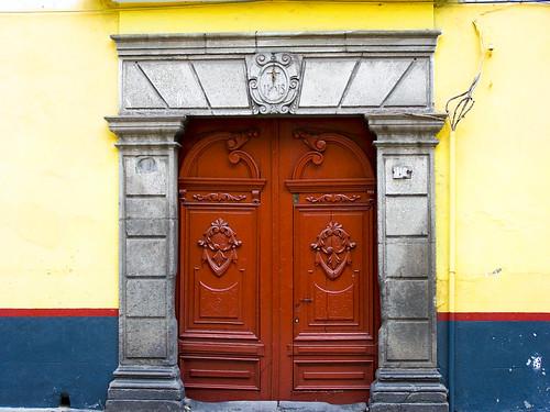 Decorados de una puerta
