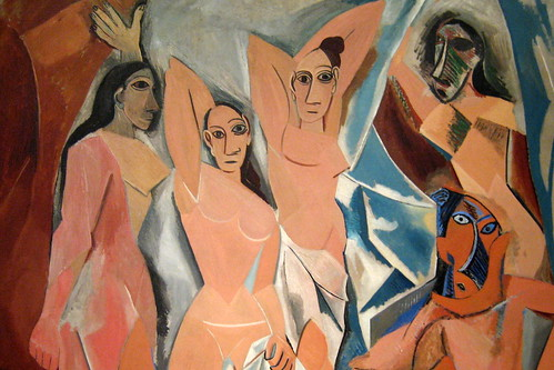NYC - MoMA: Pablo Picasso's Les Demoiselles d'Avignon | by wallyg