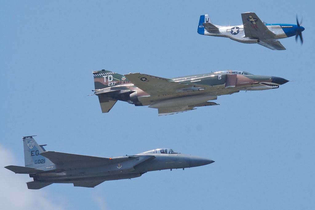 Air Force Legacy Flight