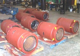 Externally pressurized expansion joints for steam plant in Kent, Ohio