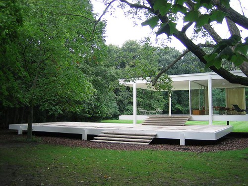 Farnsworth House, Mies van der Rohe, 1951 | by Tim Brown Architecture