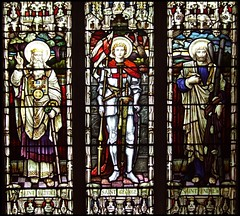 Saints Patrick, George and Andrew