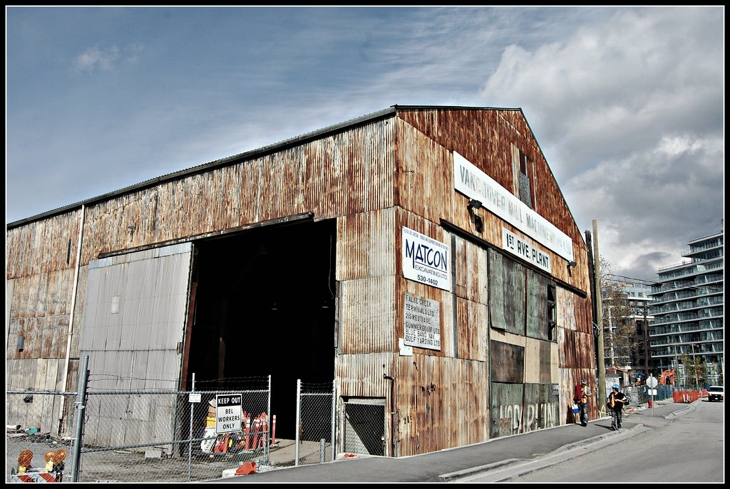 Vancouver Mill Machinery 1st Ave Plant | Mark Faviell | Flickr