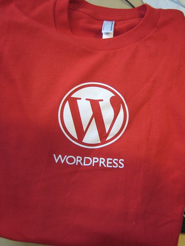 Wordpress tshirt | by Titanas