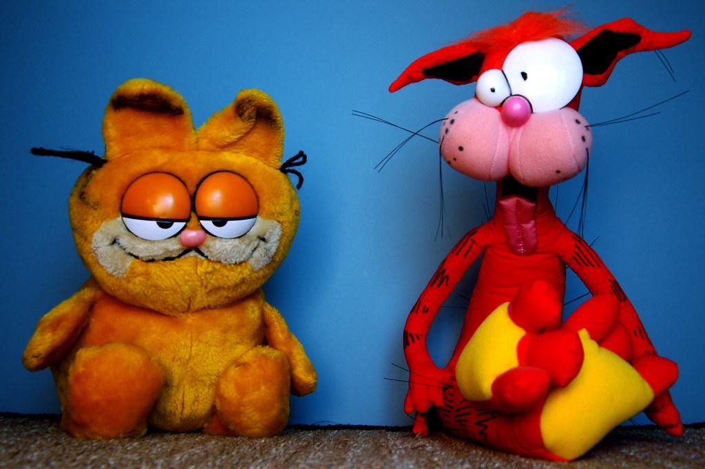 Garfield Vs Bill The Cat 152 365 Garfield Selfish Laz Flickr