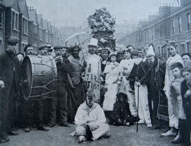 Jack in the Green, London circa 1903