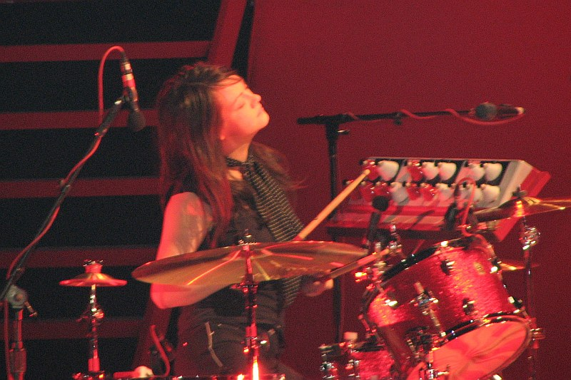 Meg White was the drummer of rock duo The White Stripes