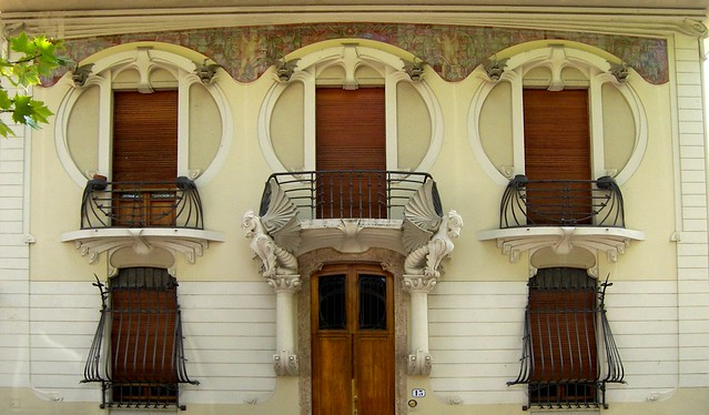Liberty a Firenze: Villino G. Lampredi