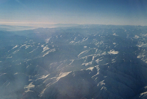 aerial mountains hindukush pakistan flying windowseat