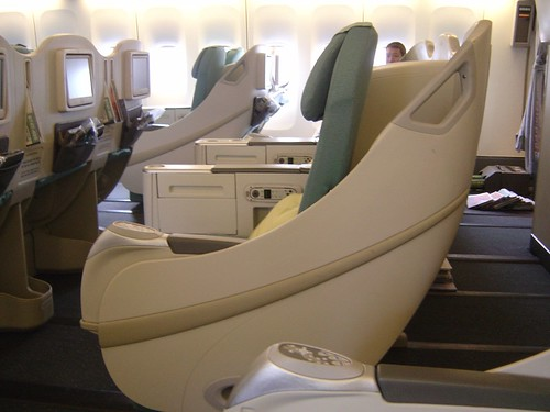 Korean Air Club Class Seats | by Tips For Travellers
