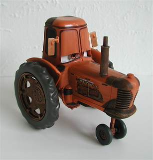 Disney Store Cars Toy Chewall Tractor 2006 The Movie Flickr