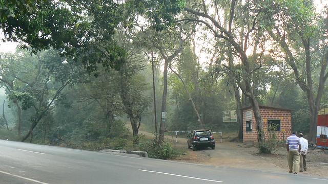 Karnala Bird Sanctuary entrance