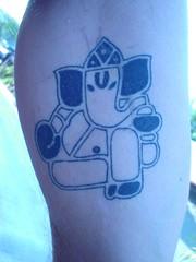 kanesh graphic tattoo (Dejavu Tattoo Studio Chiangmai Thailand) | by augrust