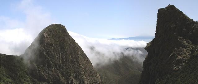 Roque Ojila Roque Carmona Monumento Natural de Los Roques Isla de la Gomera 09
